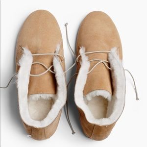 Wooly Hobes suede boots (Australian brand)